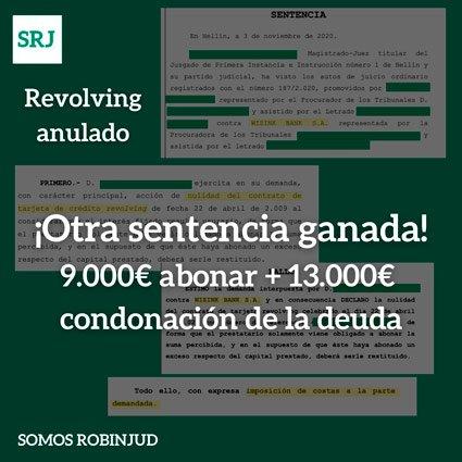 recuperados 9000 mas 13000 condonacion deuda